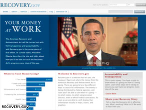 artrecoverygov1 The Spread of Information: Recovery.gov