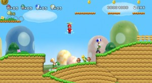 New Super Mario Bros Wii 2 300x164 New Super Mario Bros. Wii Review